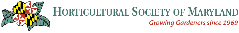 Horticultural Society of Maryland Retina Logo